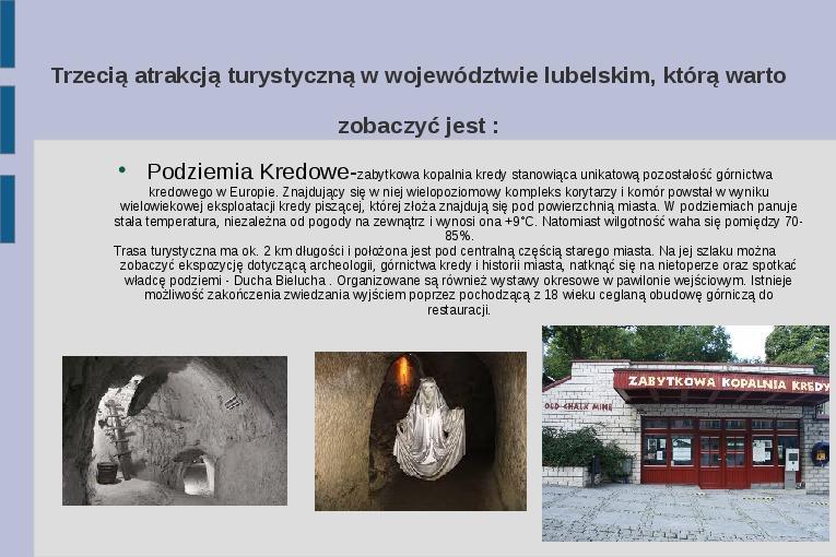 Zabytki i atrakcje Lubelszczyzny - Slajd 3