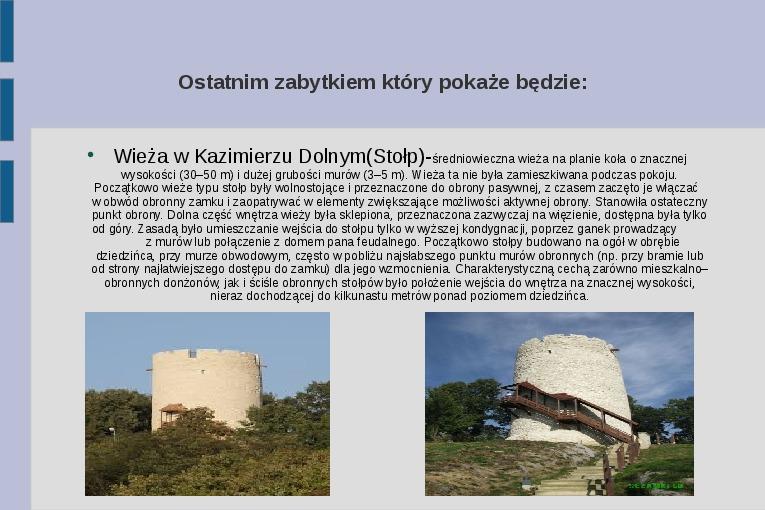 Zabytki i atrakcje Lubelszczyzny - Slajd 11