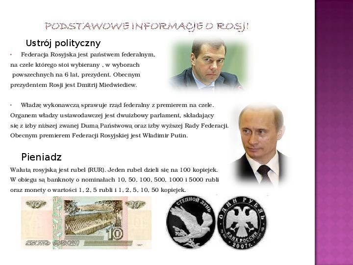 Rosja – jaki to kraj? - Slajd 5