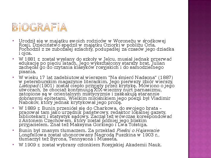 Rosyjscy laureaci nagrody Nobla - Slajd 2