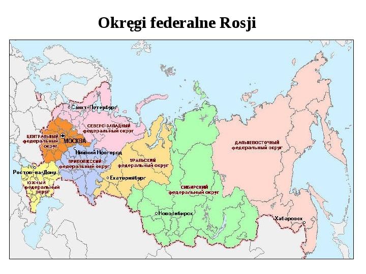 Ustrój polityczny Federacji Rosyjskiej - Slajd 10