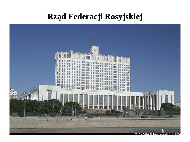 Ustrój polityczny Federacji Rosyjskiej - Slajd 26
