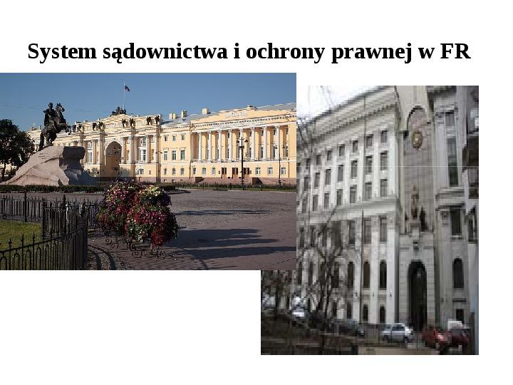 Ustrój polityczny Federacji Rosyjskiej - Slajd 32
