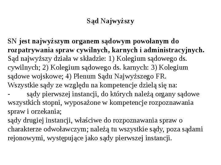 Ustrój polityczny Federacji Rosyjskiej - Slajd 34