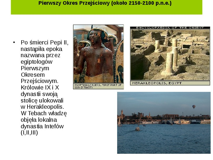 Powstanie i funkcjonowanie państwa w Starożytnym Egipcie - Slajd 9