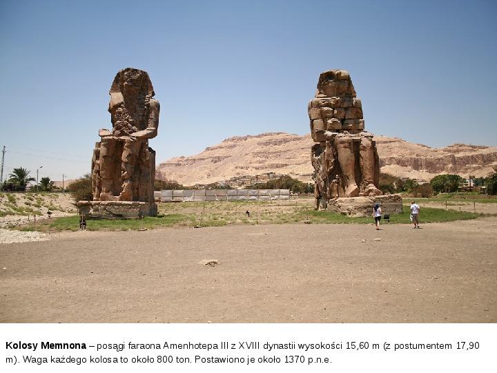 Powstanie i funkcjonowanie państwa w Starożytnym Egipcie - Slajd 20