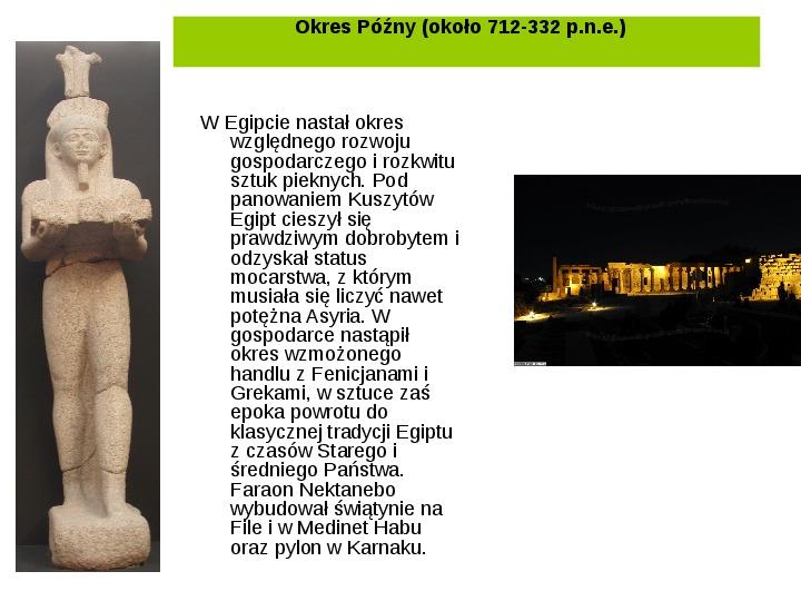 Powstanie i funkcjonowanie państwa w Starożytnym Egipcie - Slajd 22