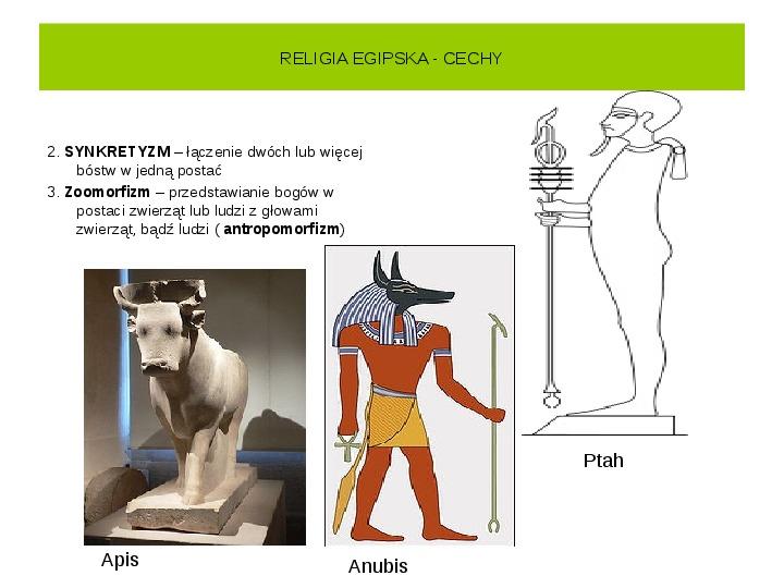 Powstanie i funkcjonowanie państwa w Starożytnym Egipcie - Slajd 25