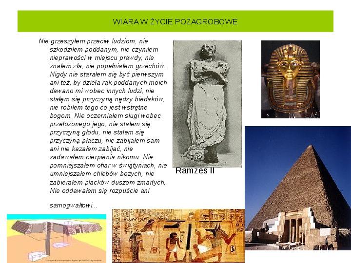 Powstanie i funkcjonowanie państwa w Starożytnym Egipcie - Slajd 26