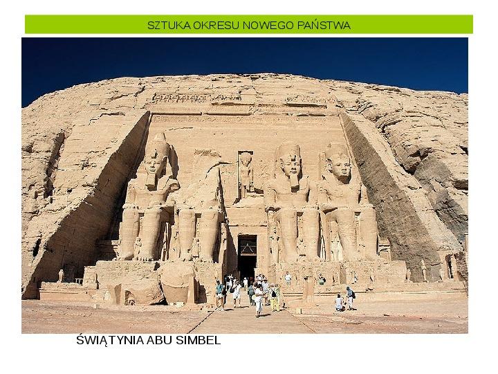 Powstanie i funkcjonowanie państwa w Starożytnym Egipcie - Slajd 28