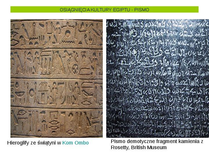 Powstanie i funkcjonowanie państwa w Starożytnym Egipcie - Slajd 30