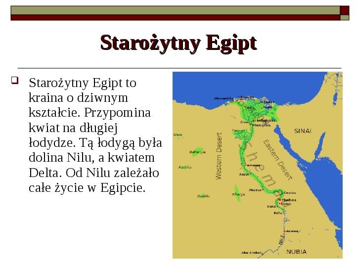Starożytny Egipt - Slajd 4