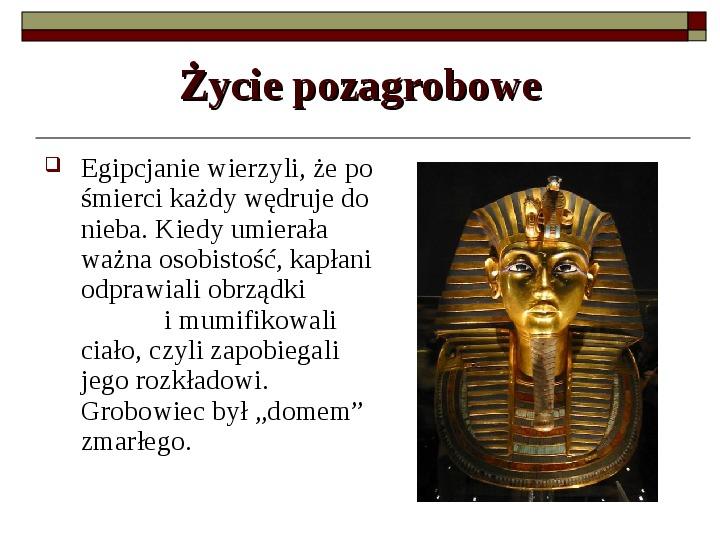 Starożytny Egipt - Slajd 9