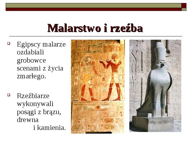 Starożytny Egipt - Slajd 11