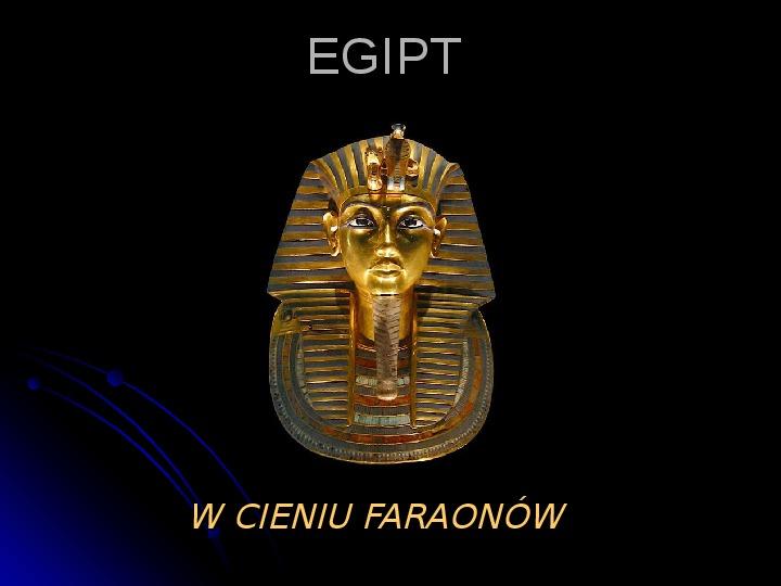 Egipt - Slajd 1