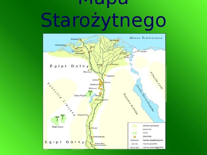 Starożytny Egipt - Slajd 1