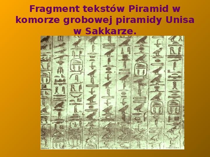 Starożytny Egipt - Slajd 3