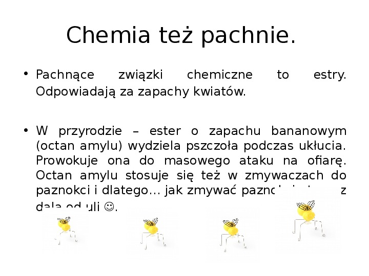 Chemia z życiu codziennym - Slajd 18