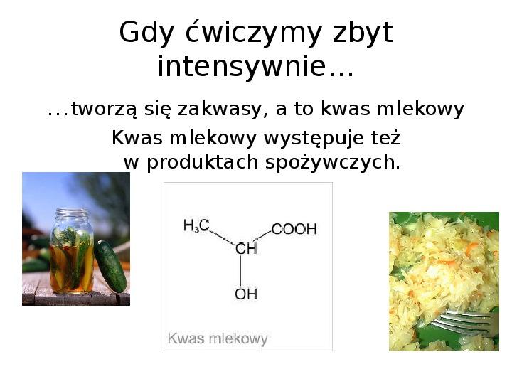 Chemia z życiu codziennym - Slajd 21