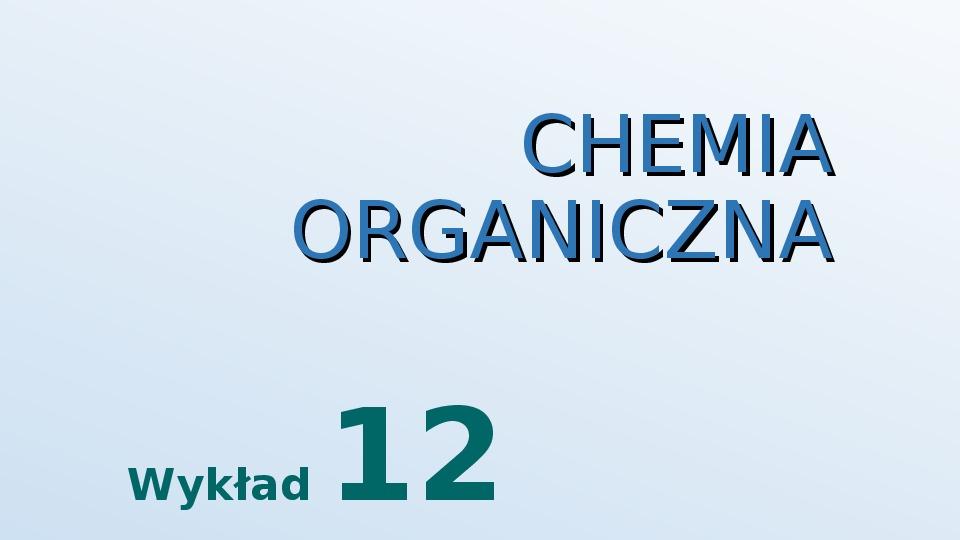 Aldehydy i ketony - Slajd 1