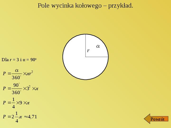 Liczba PI - Slajd 7