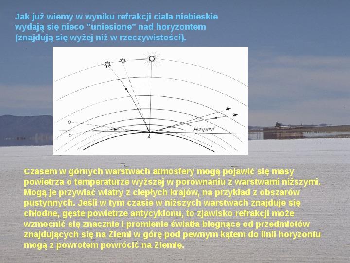 Procesy fizyczne w atmosferze - Slajd 39