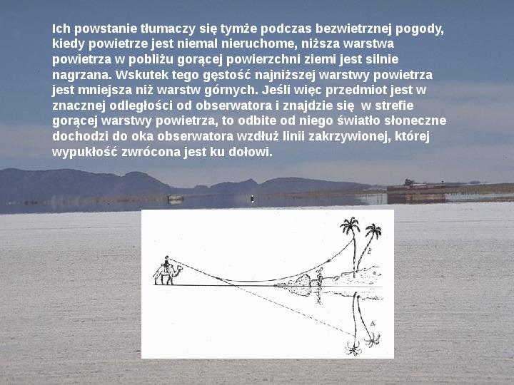Procesy fizyczne w atmosferze - Slajd 43
