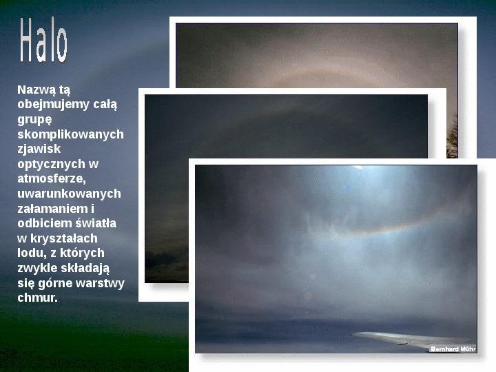 Procesy fizyczne w atmosferze - Slajd 49