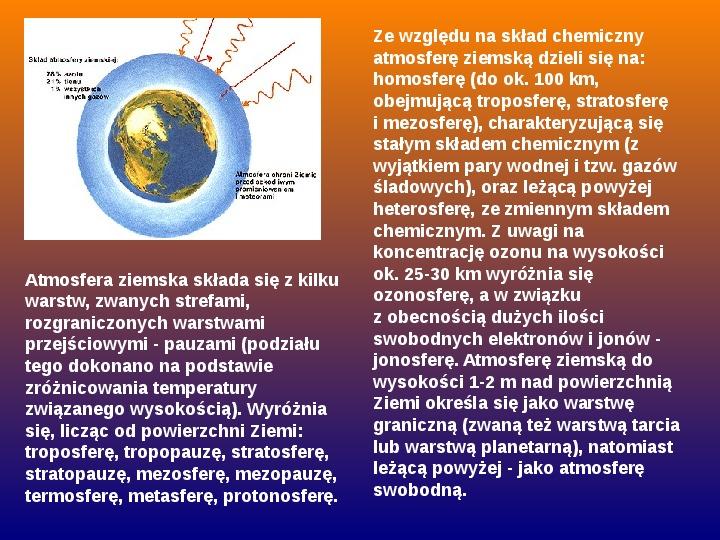 Procesy fizyczne w atmosferze - Slajd 52