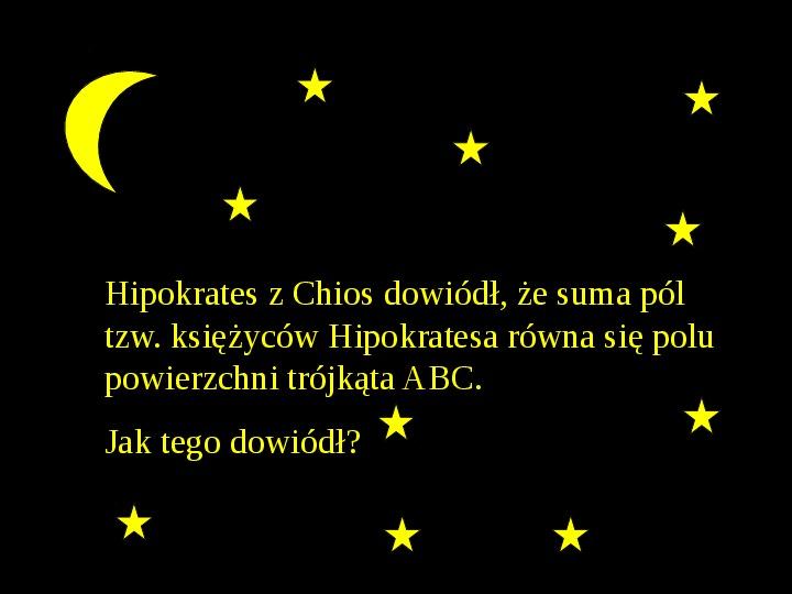Księżyce Hipokratesa - Slajd 1