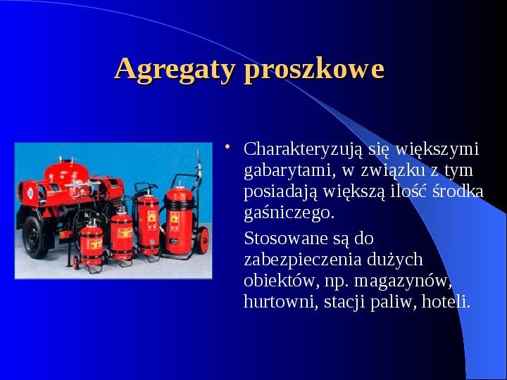 Podręczny sprzęt gaśniczy - Slajd 4