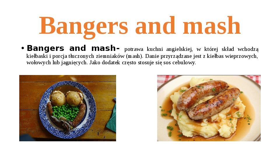 Kuchnia angielska - Slajd 3