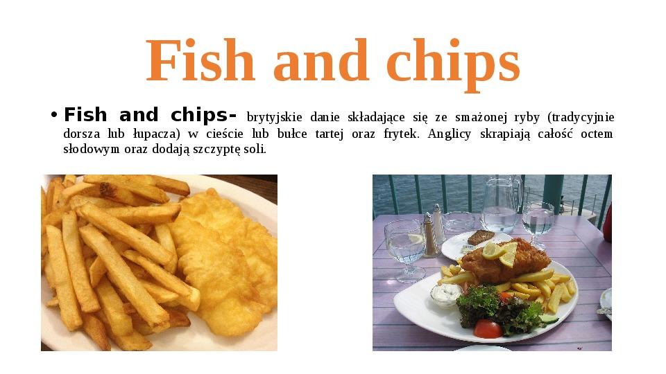 Kuchnia angielska - Slajd 4