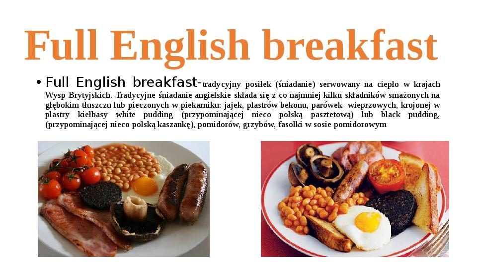 Kuchnia angielska - Slajd 5