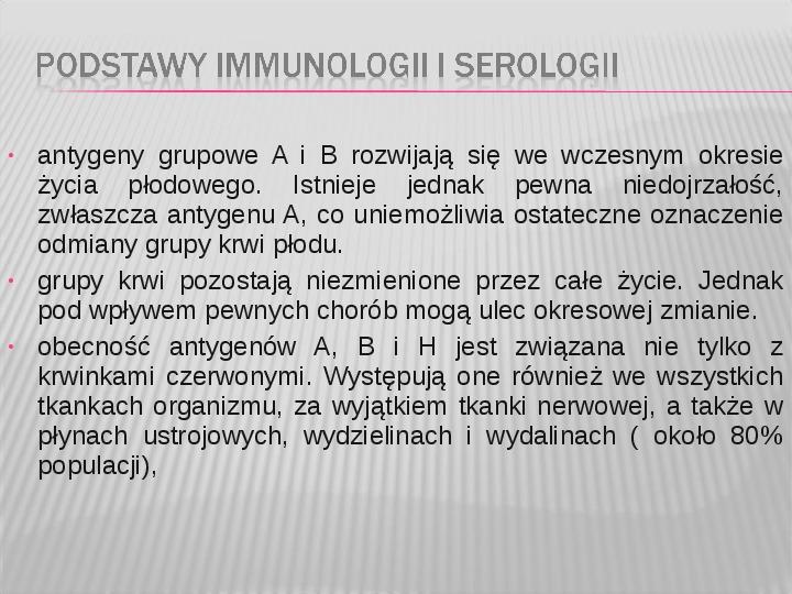 Podstawy immunologii i serologii - Slajd 30