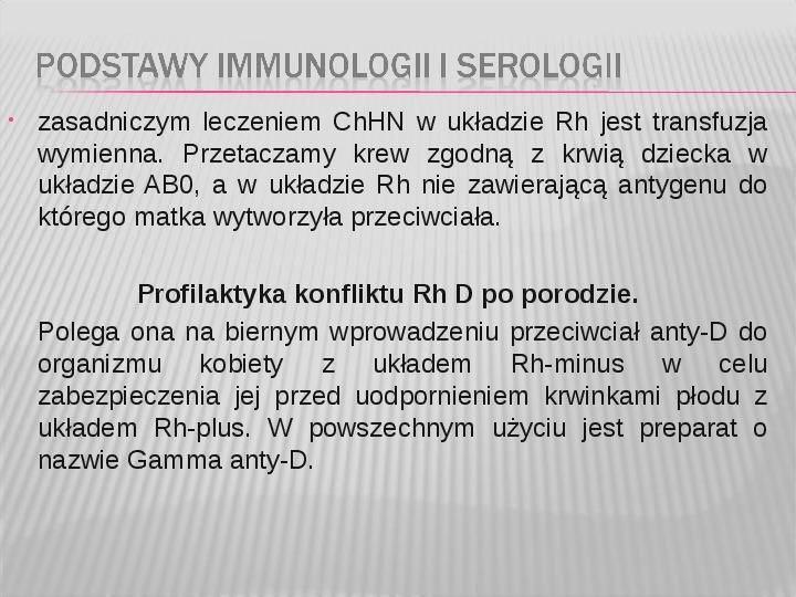 Podstawy immunologii i serologii - Slajd 44