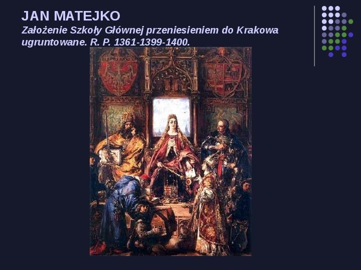 Historia Polski w malarstwie - Slajd 4