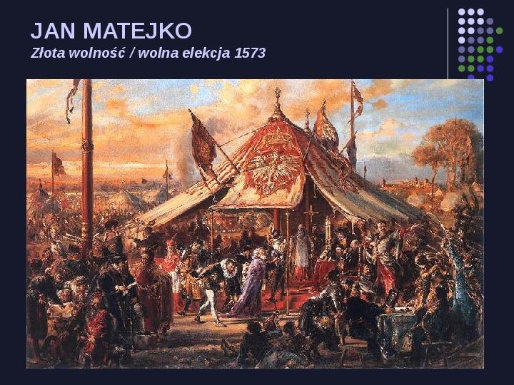 Historia Polski w malarstwie - Slajd 12