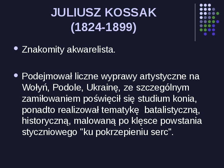 Historia Polski w malarstwie - Slajd 20