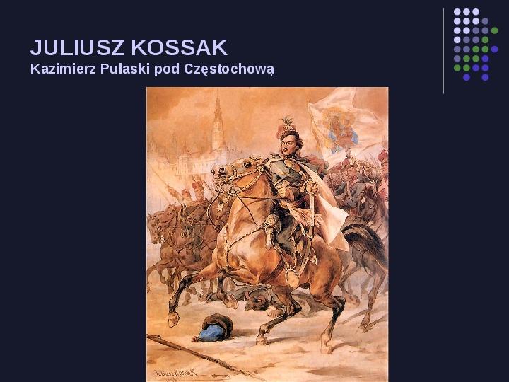 Historia Polski w malarstwie - Slajd 24