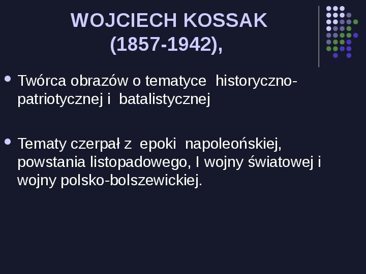 Historia Polski w malarstwie - Slajd 27