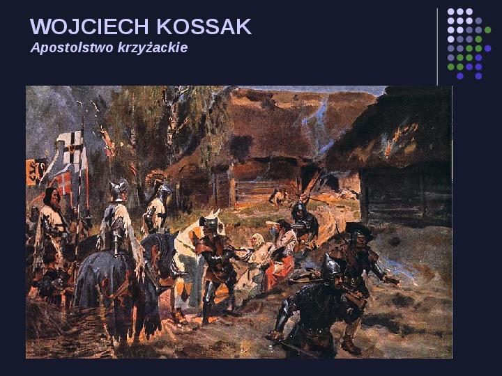 Historia Polski w malarstwie - Slajd 28