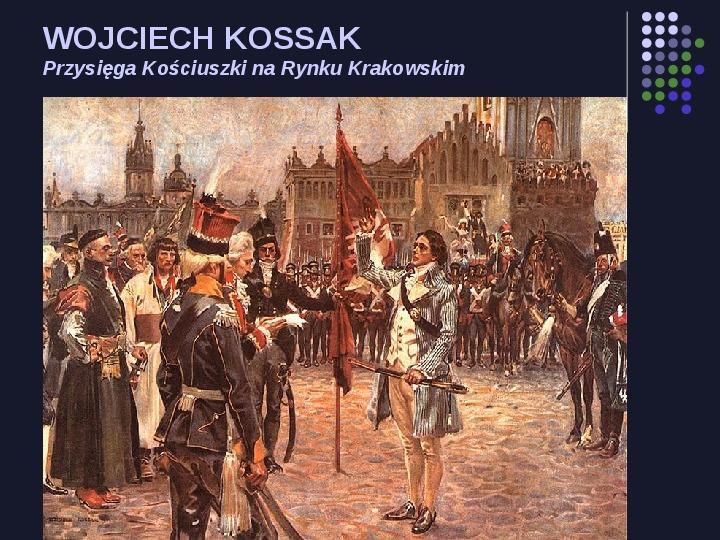 Historia Polski w malarstwie - Slajd 32