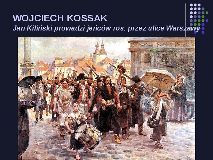 Historia Polski w malarstwie - Slajd 38
