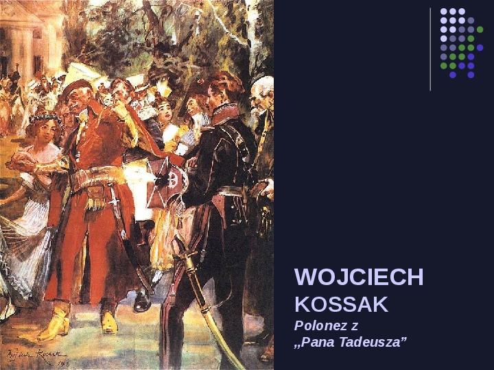 Historia Polski w malarstwie - Slajd 39