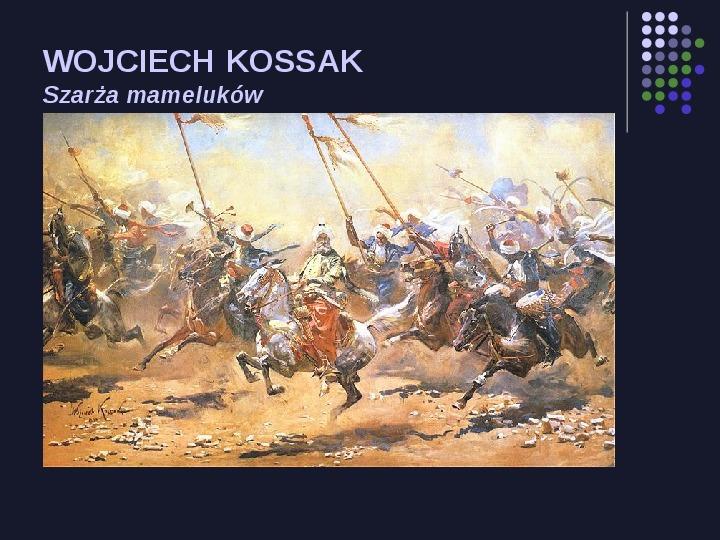 Historia Polski w malarstwie - Slajd 40