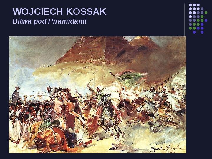 Historia Polski w malarstwie - Slajd 41