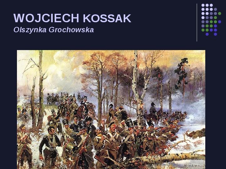 Historia Polski w malarstwie - Slajd 48