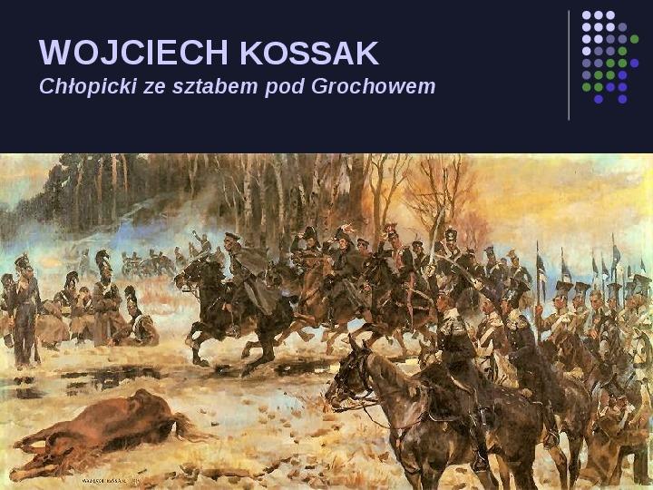 Historia Polski w malarstwie - Slajd 50