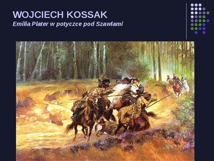 Historia Polski w malarstwie - Slajd 51